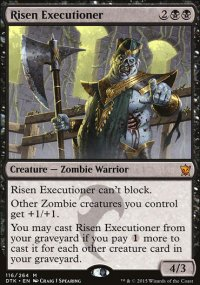 Risen Executioner - Dragons of Tarkir