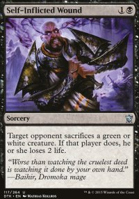 Self-Inflicted Wound - Dragons of Tarkir
