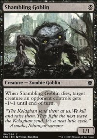 Shambling Goblin - Dragons of Tarkir