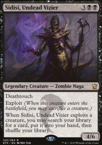 Sidisi, Undead Vizier - Dragons of Tarkir