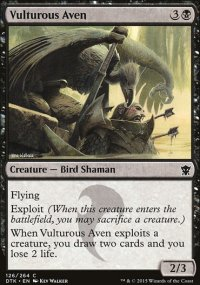 Vulturous Aven - Dragons of Tarkir