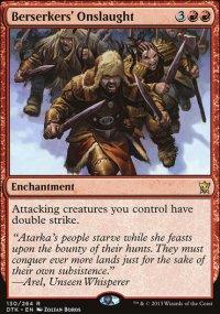 Berserkers' Onslaught - Dragons of Tarkir
