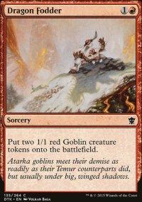 Dragon Fodder - Dragons of Tarkir