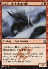 Qal Sisma Behemoth - Dragons of Tarkir