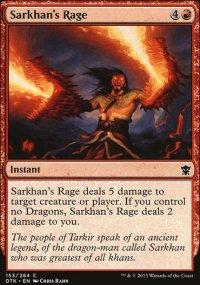 Sarkhan's Rage - Dragons of Tarkir