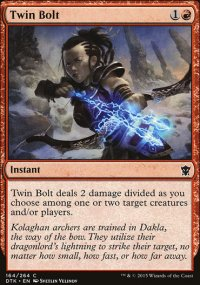 Twin Bolt - Dragons of Tarkir
