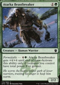 Atarka Beastbreaker - Dragons of Tarkir