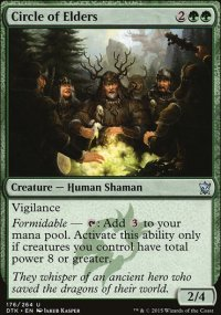 Circle of Elders - Dragons of Tarkir