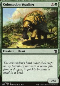 Colossodon Yearling - Dragons of Tarkir