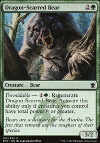 Dragon-Scarred Bear - Dragons of Tarkir