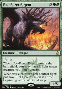 Foe-Razer Regent - Dragons of Tarkir