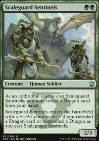 Scaleguard Sentinels - Dragons of Tarkir