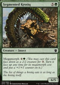 Segmented Krotiq - Dragons of Tarkir