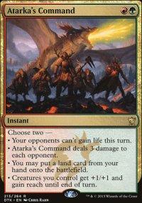 Atarka's Command - Dragons of Tarkir