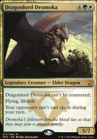 Dragonlord Dromoka - Dragons of Tarkir