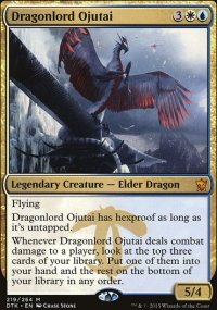 Dragonlord Ojutai - Dragons of Tarkir