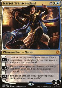Narset Transcendent - Dragons of Tarkir