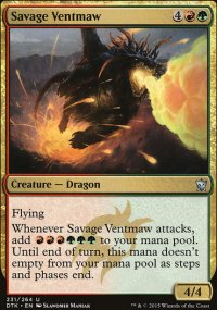 Savage Ventmaw - Dragons of Tarkir