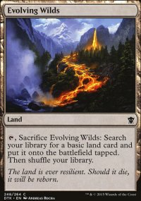Evolving Wilds - Dragons of Tarkir