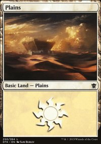 Plains 1 - Dragons of Tarkir