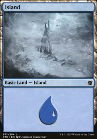 Island 1 - Dragons of Tarkir