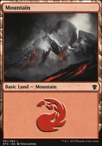 Mountain 3 - Dragons of Tarkir