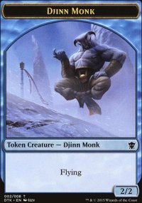 Djinn Monk - Dragons of Tarkir