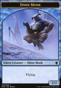 Djinn Monk - Dragons of Tarkir