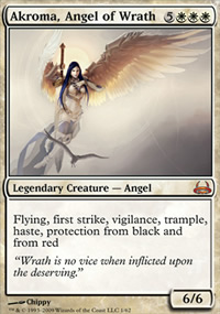 Akroma, Angel of Wrath - Divine vs. Demonic