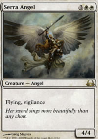 Serra Angel - Divine vs. Demonic