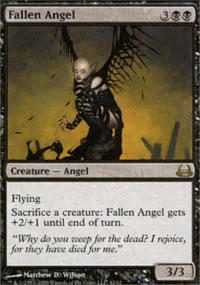 Fallen Angel - Divine vs. Demonic