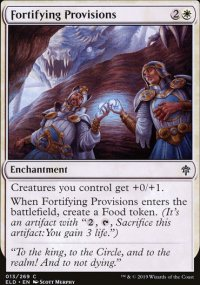 Fortifying Provisions - Throne of Eldraine