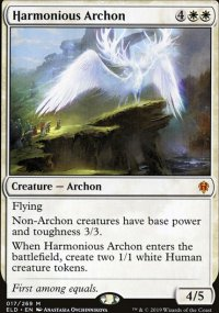 Harmonious Archon 1 - Throne of Eldraine