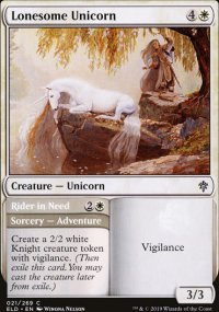 Lonesome Unicorn 1 - Throne of Eldraine