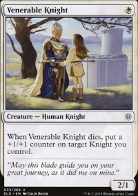 Venerable Knight - Throne of Eldraine