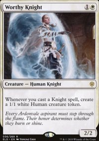 Worthy Knight 1 - Throne of Eldraine