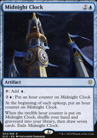 Midnight Clock 1 - Throne of Eldraine