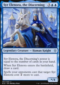 Syr Elenora, the Discerning - Throne of Eldraine