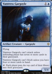 Vantress Gargoyle 1 - Throne of Eldraine