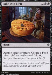 Bake into a Pie - Throne of Eldraine