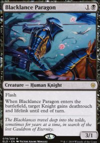 Blacklance Paragon 1 - Throne of Eldraine