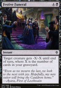 Festive Funeral - Throne of Eldraine
