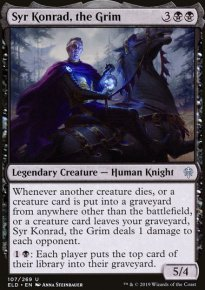 Syr Konrad, the Grim - Throne of Eldraine