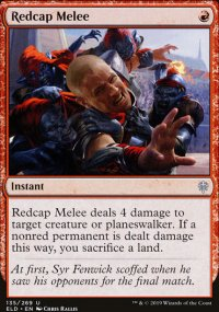 Redcap Melee - Throne of Eldraine