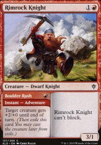Rimrock Knight 1 - Throne of Eldraine