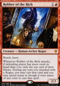Robber of the Rich 1 - Throne of Eldraine