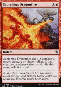 Scorching Dragonfire - Throne of Eldraine