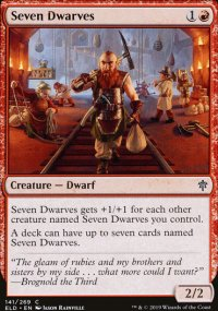Seven Dwarves - Throne of Eldraine