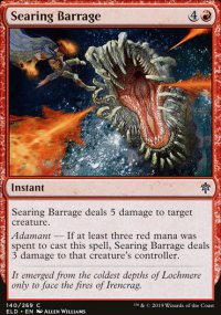 Searing Barrage - Throne of Eldraine