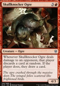 Skullknocker Ogre - Throne of Eldraine
